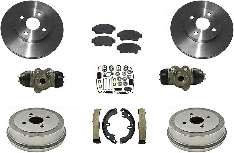 Geo Prizm 1989-1997 Centric Drum Brake Shoe Hardware Kit Fits Toyota Corolla 1993-2002