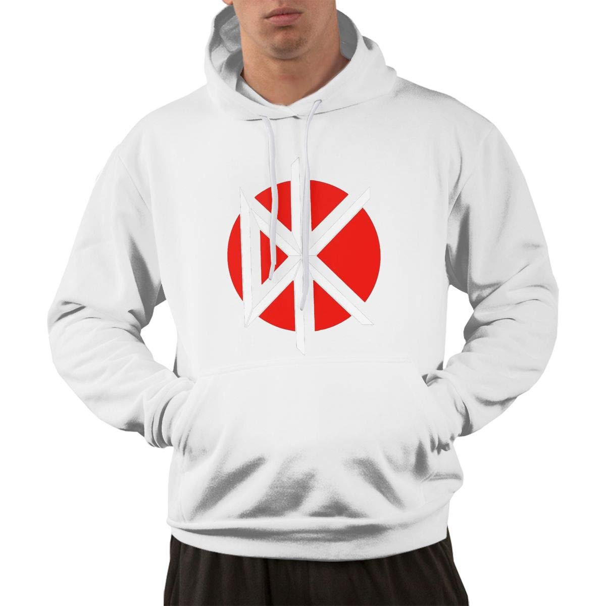 Ricki J McInnis  Dead Kennedys Men's Pocket Fashion Handsome Comfortable Hoodie Sweater