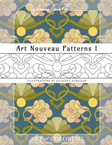 Art Nouveau Patterns Coloring product image
