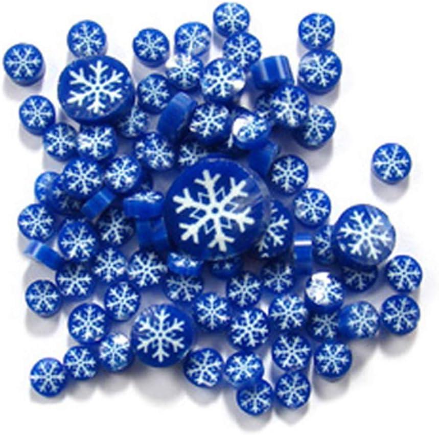Snowflake Murrine 11101 Millefiori COE 90 Glacial Art Glass
