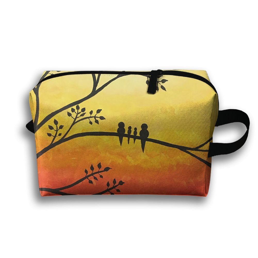 Travel Gadget Organizer Portable Toiletry Bag Cosmetic Pouch Medicines Storage Holder Sunsetbirds High-capacity 80%OFF