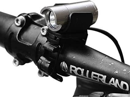 FREE 2 day Ship Thorfire Bike Light Super Bright Bike Headlight USB Recharg..