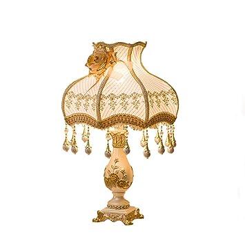 CJH Europäische Hochzeit Tischlampe Schlafzimmer Hochzeit Ideen Romantische  Hochzeit Geschenk Warme Ehe Zimmer Nachttischlampe