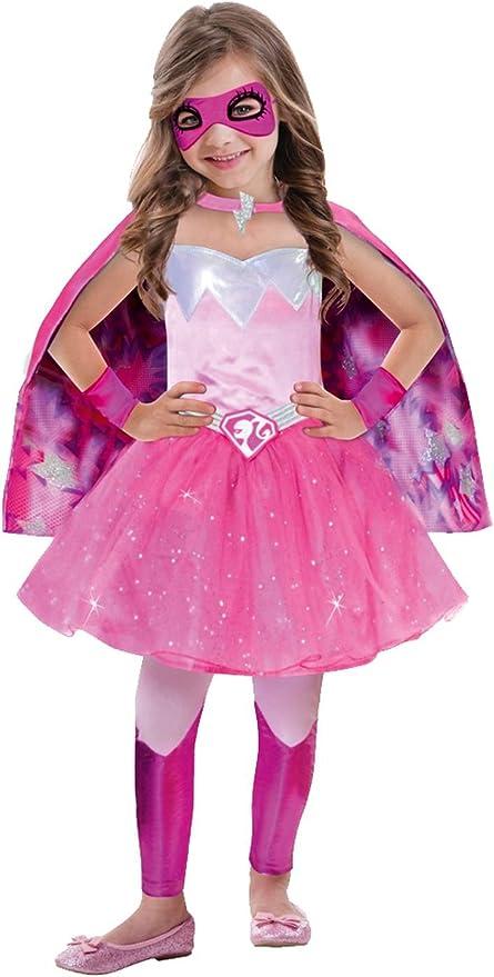 Amscan - Disfraz para niña Barbie, Rosa, 8 - 10 años: Amazon.es ...