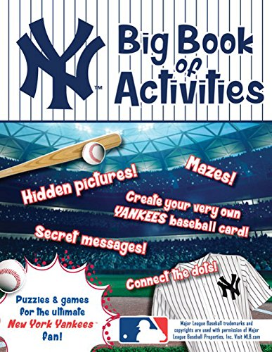 Peg Puzzle Book (New York Yankees: The Big Book of Activities (Hawk's Nest Activity Books))