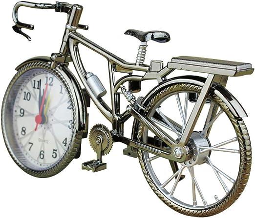 Wan&ya Reloj de Alarma con Forma de Bicicleta Retro Reloj de ...