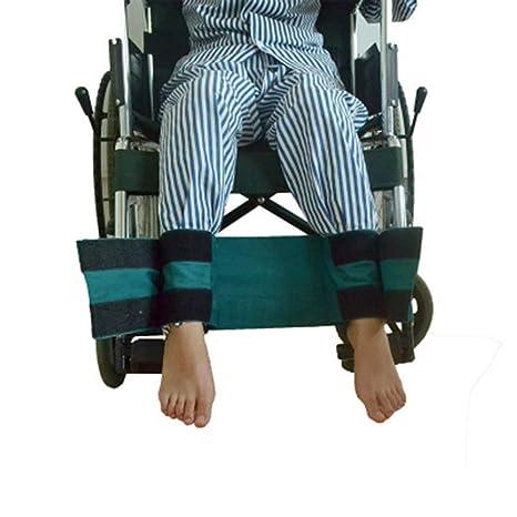 Reposapiés para silla de ruedas Sujeción para piernas Correa Cinturón de seguridad para silla de ruedas
