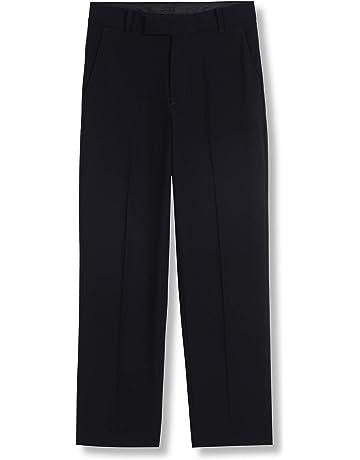 1b538650b81 Calvin Klein Boys  Bi-Stretch Flat Front Dress Pant