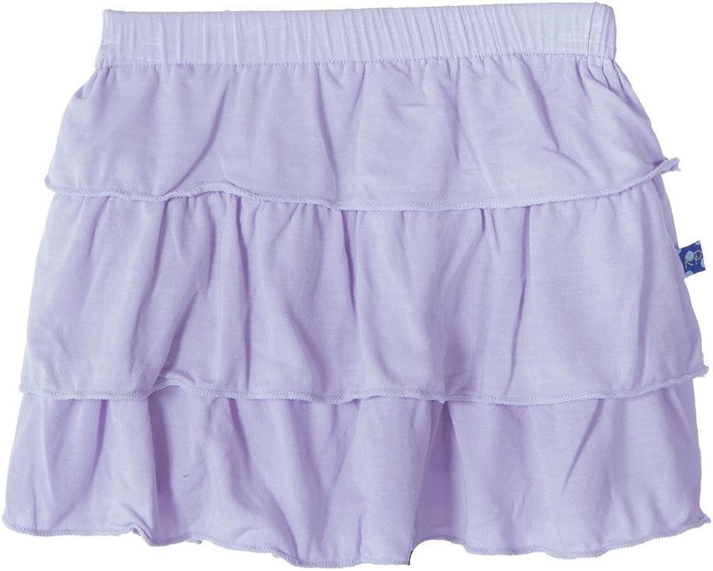 KicKee Pants Little Girls Solid Tiered Skirt PRD-KPS483