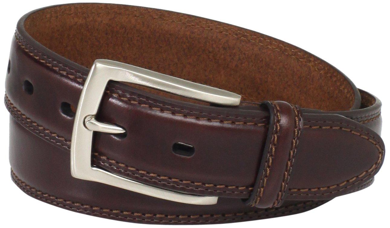 Dockers Men's 1 3/8 in. Feather-Edge Belt,Brown,34