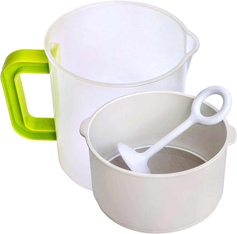 Soy Milk Filter Nut Maker Strainer Alternative Including Filter Cup Rod Brush