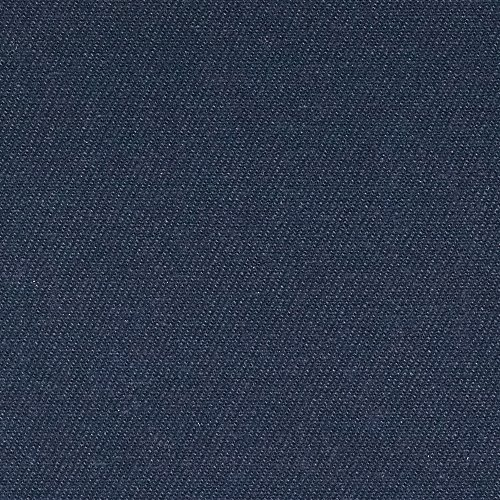 12 oz Brushed Bull Denim Navy Fabric By The (Brushed Cotton Upholstery)