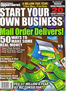 Money: Small Business Opportunities - Money Making Ideas ... |Your Own Business Opportunities