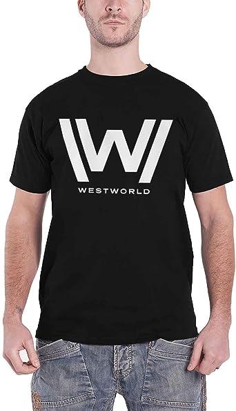 Officially Licensed Westworld Logo 3//4 Sleeve Baseball T-Shirt S-XXL Sizes