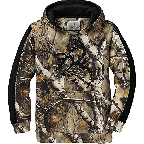 Field Boys Sweatshirt - Legendary Whitetails Youth Outfitter Hoodie Big Game Field Camo X-Small