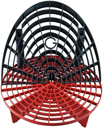 Wash Bucket (The Grit Guard Insert with Washboard Combo Pack (Black/ Red))