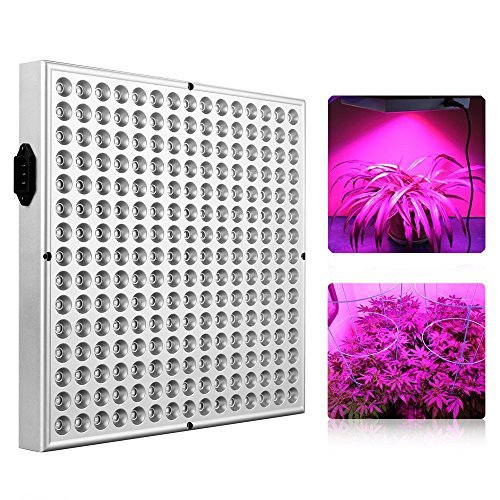 Ourkens 225Pcs LED Red Blue Indoor Garden Plant Grow Light Hanging Panel (120W)
