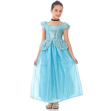 05a7349f5 Fantasia Cinderela Disney Infantil Standard P  Amazon.com.br  Amazon ...