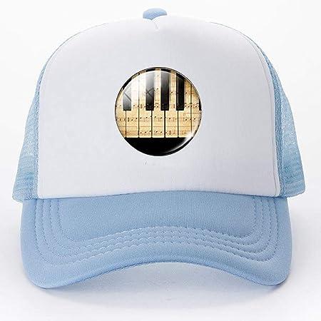 Llavero de Piano para Mujer con diseño de Gorras de béisbol ...