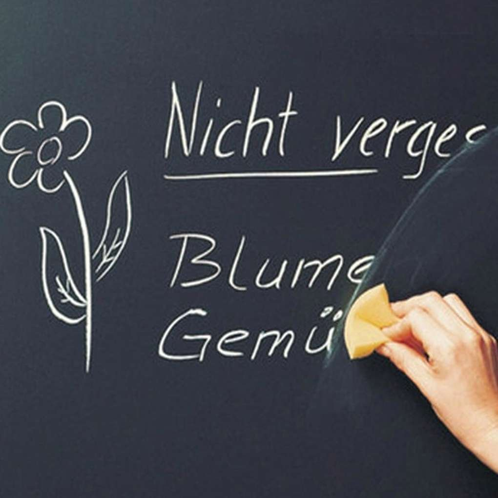 MuLuo Erasable Wall Sticker Chalkboard Sticker Removable Blackboard Wall Mural Home Decal 45x200CM by MuLuo (Image #2)