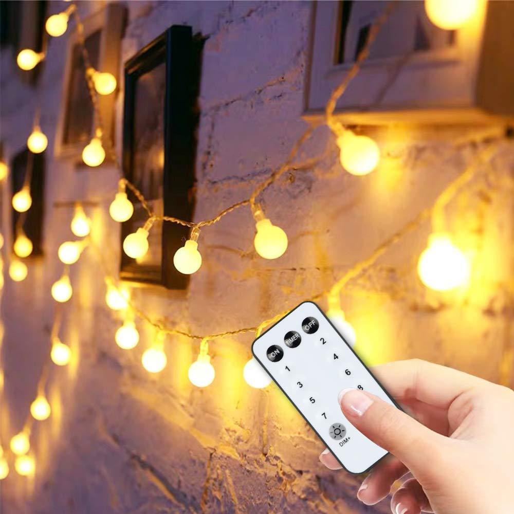59FT 100 LED Fairy Globe String Lights