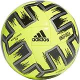 adidas Men's Uniforia Club Volleyball Equipment Accessories, Solar Yellow/Iron Met/Black, 5