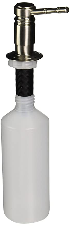 Franke sd-180 tradicional mano dispensador de loción, níquel satinado