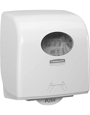 Anself Distributeur Papier Ronde Mural Toilette Porte-serviette Papier Distributeur de Serviettes Bo/îte de Rangement pour Big Paper Towel Rouleau