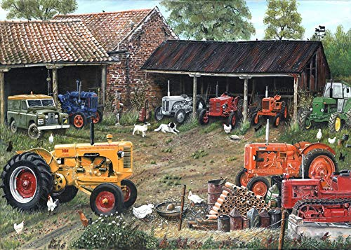 (JG Classic Tractor Collection 1000 Piece Jigsaw Puzzle 690mm x 480mm )
