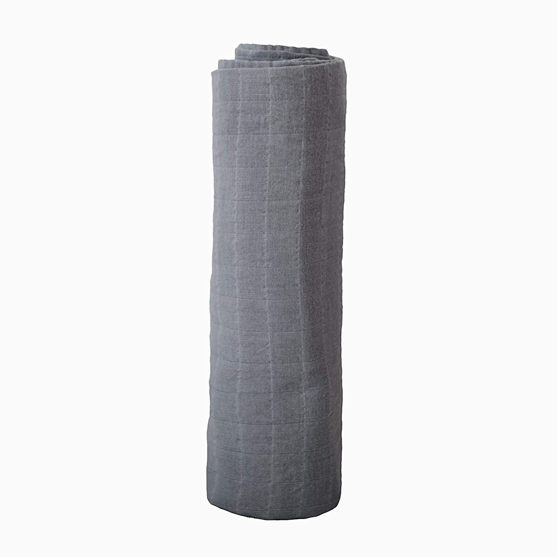 mushie Muslin Baby Swaddle Blanket 100/% Organic Cotton Flowers