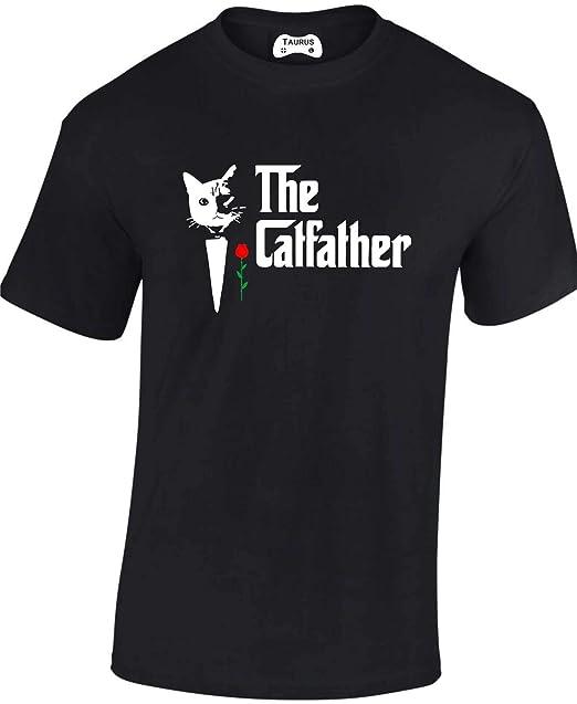 4bbdf6034 Taurus Clothing The Catfather film parody funny joke T SHIRT fathers day  gift: Amazon.co.uk: Clothing