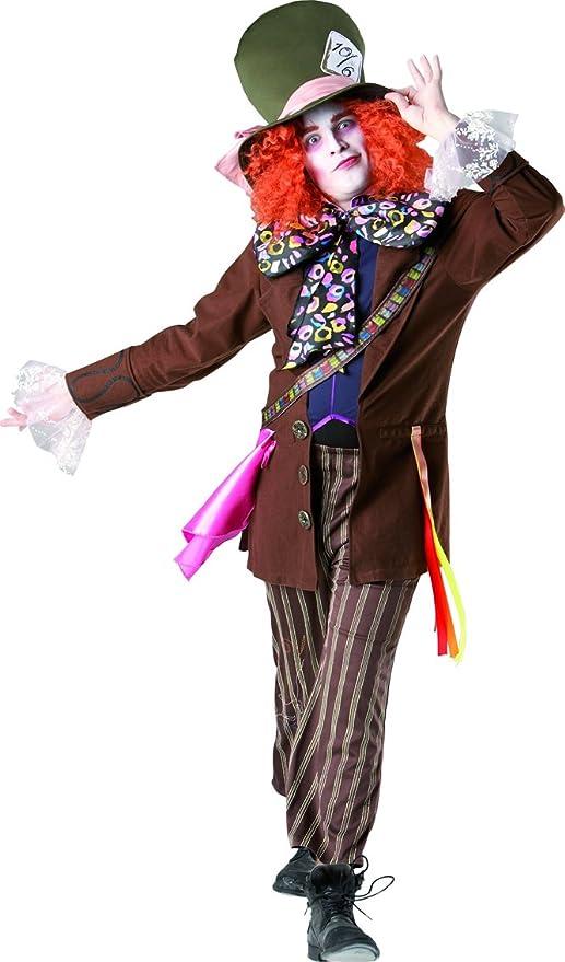 Cappello Cappellaio Matto Parrucca Halloween Fancy Dress Costume Alice nel paese delle meraviglie Adulti