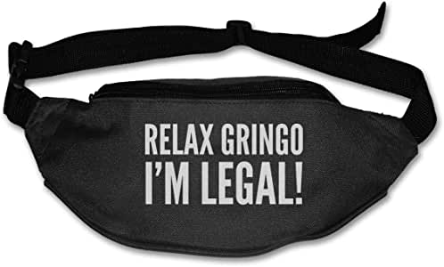 tyui7 Relax Gringo Im Legal Sport Riñonera Riñonera con Correa ...