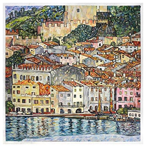 Malcesine on Lake Garda - Gustav Klimt high quality for sale  Delivered anywhere in USA