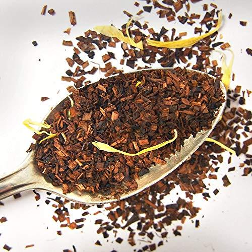 Plum Deluxe Honeybush Vanilla Cream Relaxing Herbal Tea (Honeybush Vanilla) Organic Non-GMO Loose Leaf Premium Tea Made in the USA (45+ Cups from 3 Oz. Pouch)