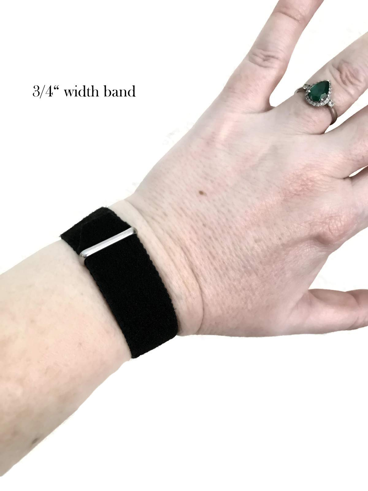 Acupressure Motion Sickness Wristband – Adjustable Hook/Loop Closure Nausea Bracelet for Morning Sickness, Vertigo, and Nausea Relief – Natural Healing Adjustable Bands (Pair) Blue Dream
