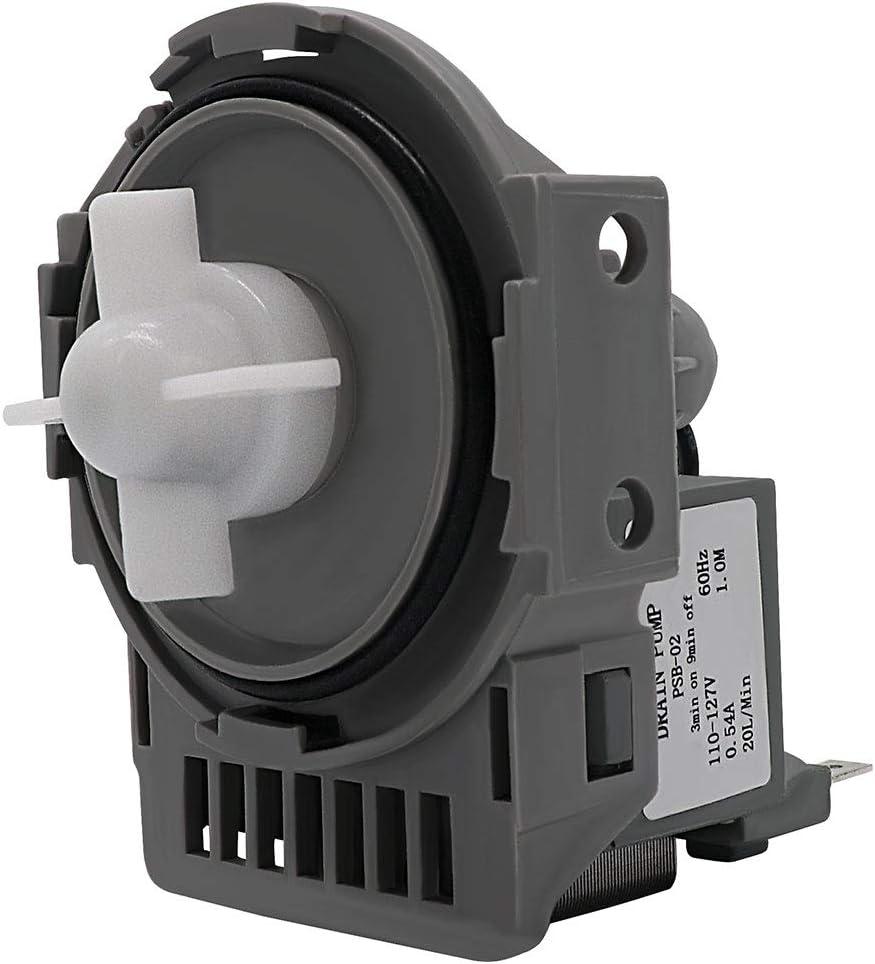 AMI PARTS DD31-00005A Dishwasher Drain Pump Compatible with Samsung Replaces DW0005A, DMT800RHW, DMT400, DMT300, DMR78A, DMR77, DMR57