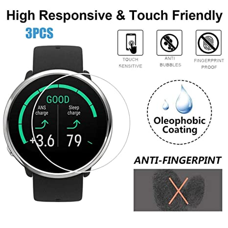 Amazon.com: Shan-S for Polar Ignite Smart Watch Tempered ...