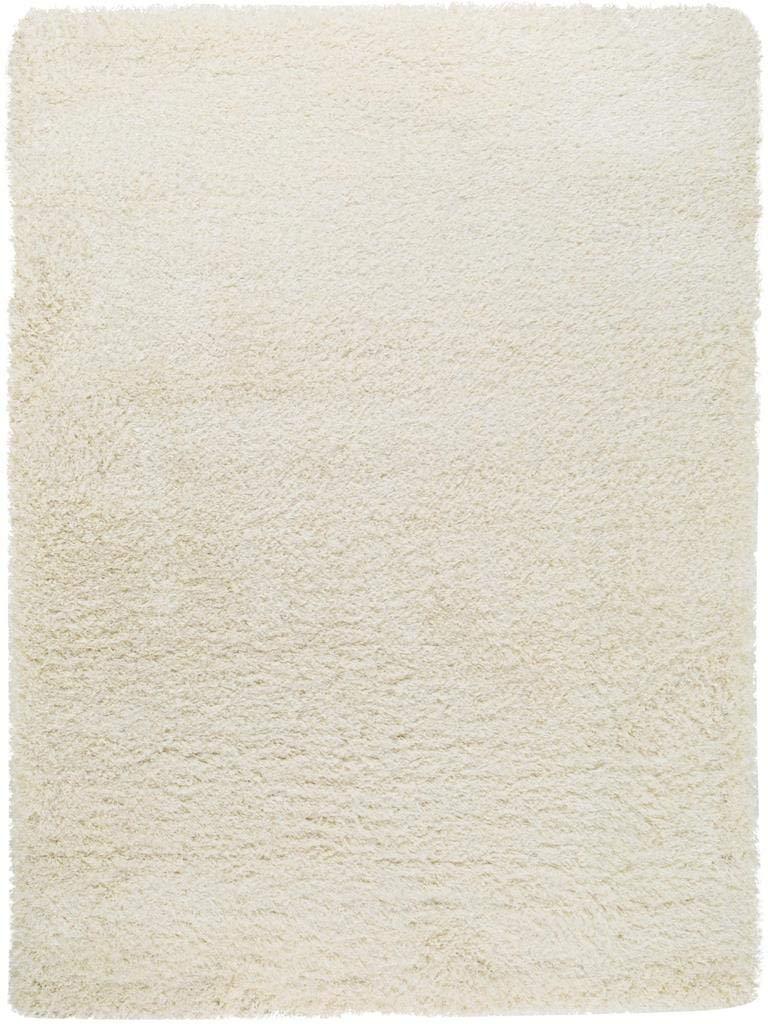 Benuta Shaggy Hochflor Teppich Sophie Weiß 140x200 cm   Langflor Teppich für Schlafzimmer und Wohnzimmer