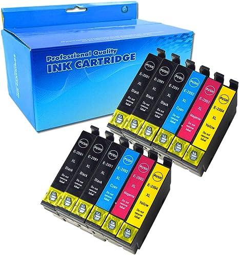 Ouguan 12x Cartuchos de tinta Epson 29XL Compatible con Epson ...