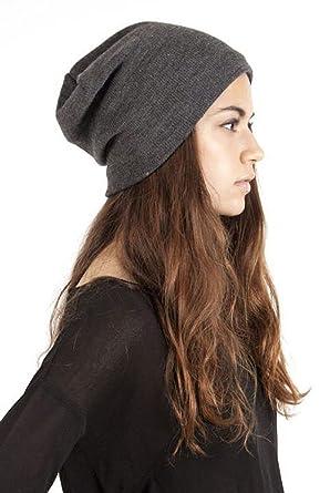 ed1831c6445 Plush Barca Slouchy Fleece-lined Hat (Charcoal) at Amazon Women s ...