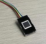 1 pcs lot fingerprint lock chip ultra - small integrated capacitor fingerprint sensor fingerprint acquisition recognition module R301T
