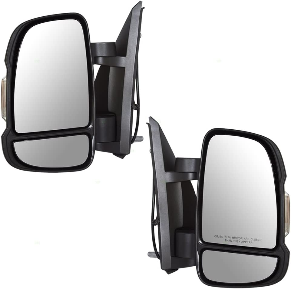 Passengers Manual Side View Mirror w//Signal Replacement for 14-19 Promaster Van 5VE98JXWAD AutoAndArt