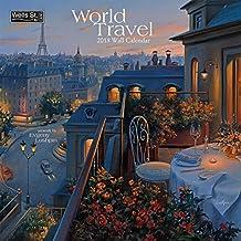 World Travel 2018 Wall Calendar