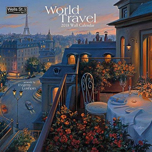 The LANG Companies WSBL World Travel 2018 12X12 Wall Calendar Office Wall Calendar (18997001719)