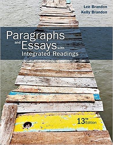 paragraphs and essays brandon
