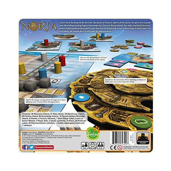 Stronghold Games Noria Board Game Board Games 4