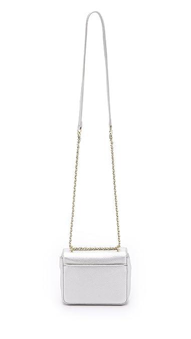 532174b8926 Tory Burch Kira Metallic Mini Chain Crossbody Soft Silver  Amazon.ca  Shoes    Handbags