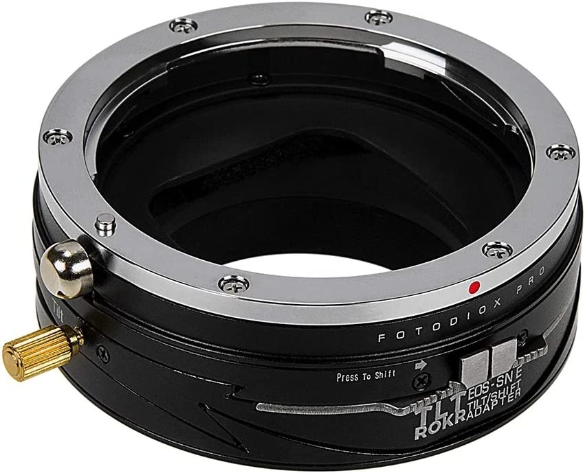 Fotodiox Pro Tlt Rokr Tilt Shift Lens Mount Adapter Kamera