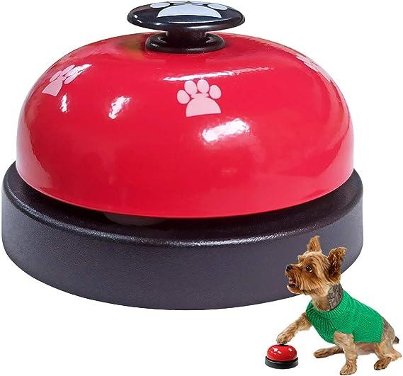 Amazon.com : TTSAM Pet Training Bell, Pet Potty Bell, Dog Puppy Cat Communication Device, Desk Call Bell (Red) : Pet Supplies